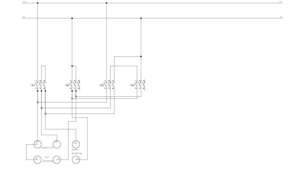 single phase forward reverse 2 single phase forward reverse sparkyhelp reversing contactor wiring diagram single phase at mifinder.co